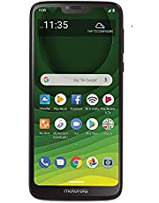 Total Wireless Motorola Moto G7 Optimo Maxx 4G LTE Prepaid Smartphone (Locked) - Black - 32GB - Sim Card Included - GSM (TWMTXT1955DCP)