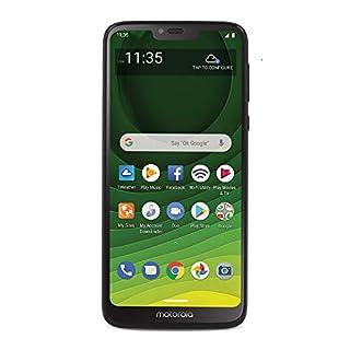 Total Wireless Motorola Moto G7 Optimo Maxx 4G LTE Prepaid Smartphone (Locked) - Black - 32GB - Sim Card Included - GSM (TWMTXT1955DCP)