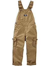 OshKosh B'gosh Baby Boys Overall, Brown, 9 Months