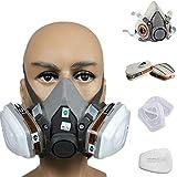 tesyyke Anti-Dust Gas Spray Paint Dual Respirator