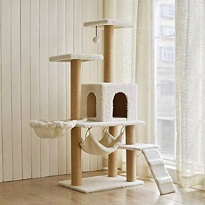 Cxjff Ventosa de Pared Gato suministra una Flor Grande Jaula Alta Gato Conjunto de Mesa Gato de Gato Marco de Escalada Escalera de Garra: Amazon.es: Productos para mascotas
