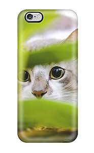 Excellent Design Cat Hiding Phone Case For Iphone 6 Plus Premium Tpu Case