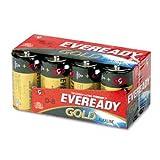 A95-8 ''D'' Eveready Gold Alkaline Battery 8/Crd