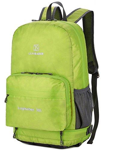 Dos Escalade Imperméable Sport Sac Hommes Ultraléger en Alpinisme pliable Voyage et pour Nylon Vert Camping Sac Trekking à Randonnée Femmes bourse de qFIaS