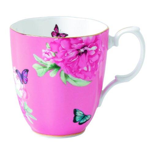 Duchess Albert Friendship Vintage Mug Designed by Miranda Kerr, 13.5-Ounce, Pink