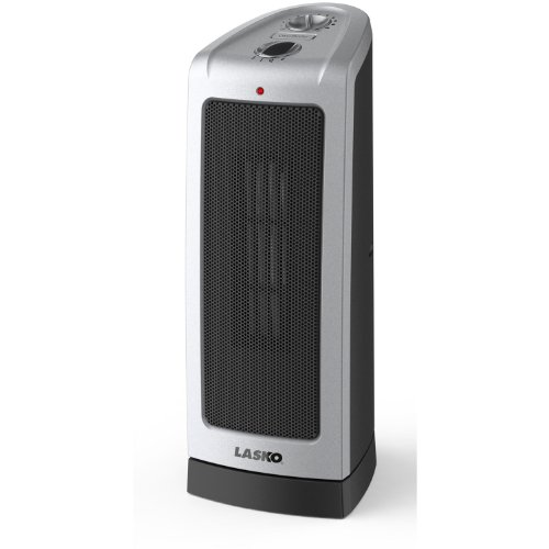Lasko Electric Oscillating Ceramic 1500-Watt Tower Heater, 5307