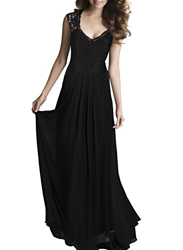 Women's Ball Gown Prom Party Formal Celeb Evening Maxi Dress - 2
