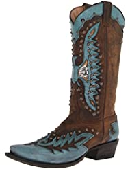 Stetson Women's Studded Eagle Riding Boot