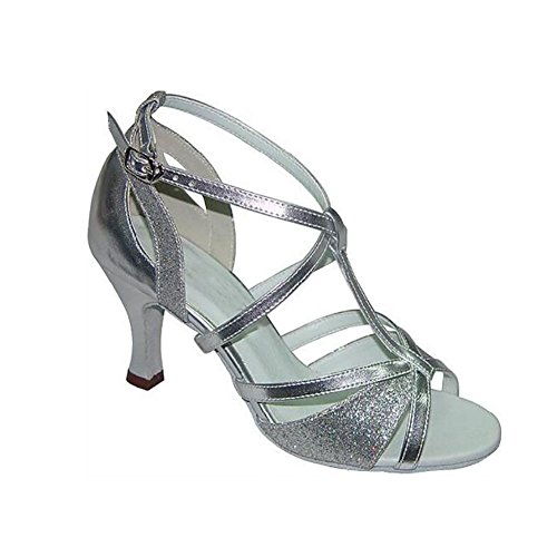 Color Women's amp; Size Shoes Sandal Ballroom Ribbon XUE amp; Sneaker C A Dance Shoes Party Evening 35 Tie Heel Latin Practice Buckle Evening PU Performance Party 1wHngdq