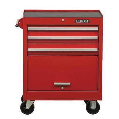 Stanley Proto J442742-8RD 440SS 27-Inch Roller Cabinet, 8 Drawer, -