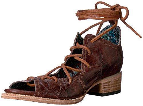Sandalo Con Tacco Marrone Da Donna Freebird Marrone