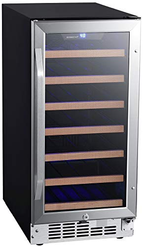 - EdgeStar CWR302SZ 15 Inch Wide 30 Bottle Built-In Wine Cooler
