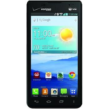 amazon com lg lucid 2 black 8gb verizon wireless cell phones rh amazon com LG 4G Phone LG Optimus F3 4G Speakerphone