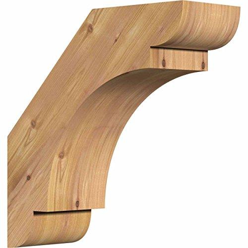 Cedar Bracket - Ekena Millwork BRC04X10X10OLY00SWR Olympic Smooth Brace, 4