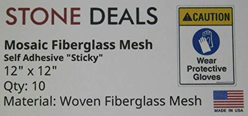Stone Deals Sticky Mosaic Mesh 12