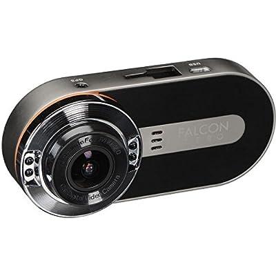 FalconZero F170HD+ GPS DashCam 1080P 170° Viewing Angle 32GB microSD Card Included