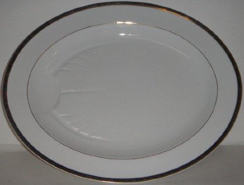 Bernardaud Platter - Bernardaud Antinea Anthracite 15