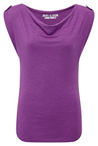 Royal Robbins Noe - Camiseta de manga corta para mujer Morado - Pansy Purple