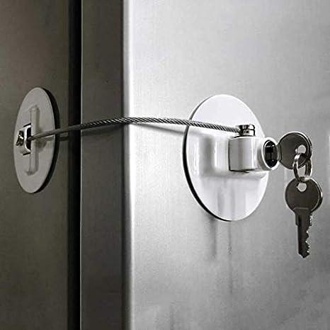 NIUQY - Cerradura de seguridad para puerta corredera de armario de ...
