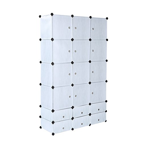 cahome-18-cubes-clothes-closet-wardrobe-armoire-storage-cube-with-doors-cyan-35x45