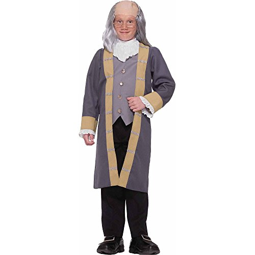[Ben Franklin Child Costume - Small] (Ben Franklin Costumes Child)