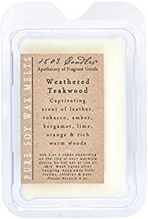 product image for 1803 Candles - Melters (Weathered Teakwood)