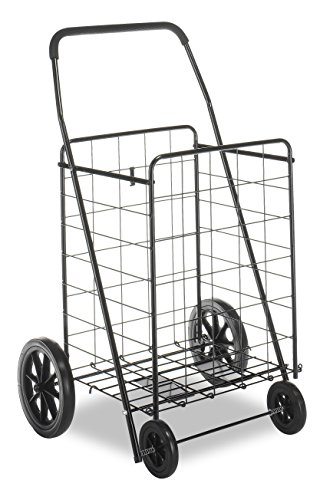 (Whitmor Deluxe Utility Cart, Extra Large, Black)