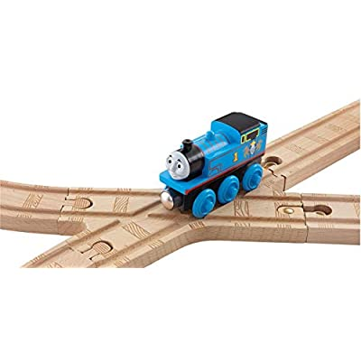 Thomas Wooden Crossing X Switch Track (1 Piece) Train Track Pack Loose: Toys & Games