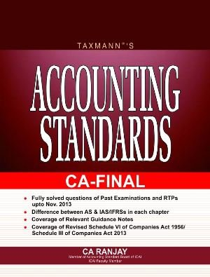 ACCOUNTING STANDARD [Paperback] CA RANJAY ebook