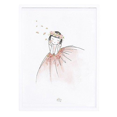 Lilipinso P0216C Affiche et Cadre Portraits Papier Rose 30 x 3 x 40 cm