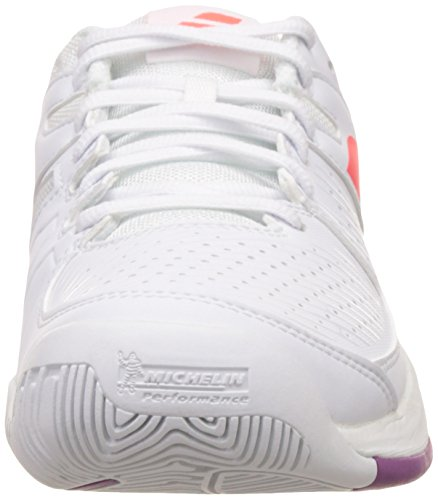 Pulsion White All Red W fluo Court rzrwqxf7