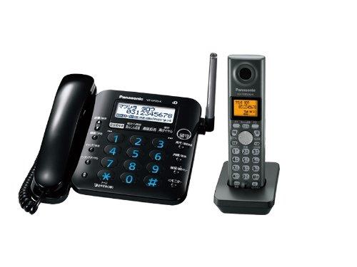 パナソニック RURURU デジタルコードレス電話機 子機1台付き ブラック VE-GP35DL-K  ブラック B0043D1IKG