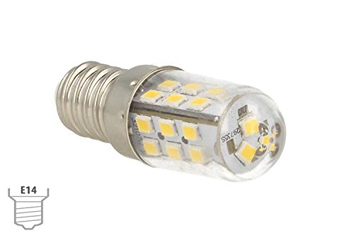 2 lampadine led e14 dc 12v 24v 4w bianco caldo 3000k per luce