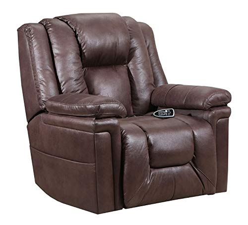 - Lane Boss Big Man Power Lift Recliner in Turbo Espresso with Duo Motors (Control Foot and Back Rest Separately) with Heat and 6 Motor Massage. Free curbside Delivery. 4602M