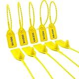 Leadseals(R) 100 PlasticTamper Seals, Zip Ties for