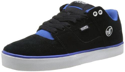 DVS Evade Skate Shoe,Black/Royal Suede,10 M US by DVS