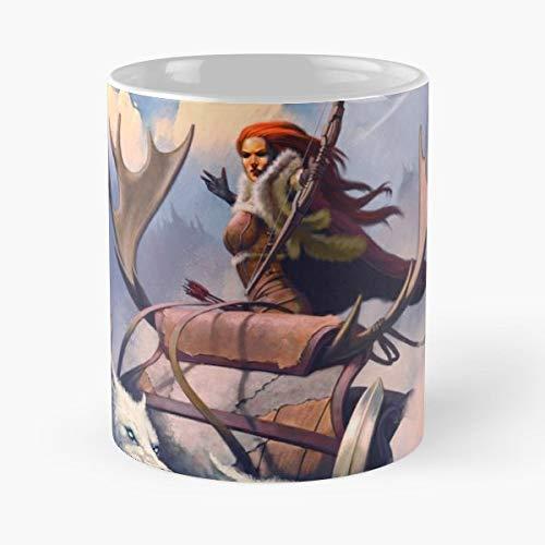 Frazetta Tribute Winter - Ceramic Mugs
