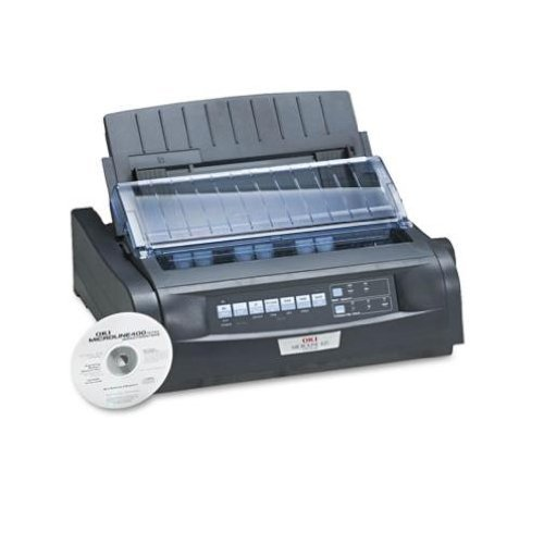 Oki 91909701 MICROLINE 420 Dot Matrix Printer (Renewed)