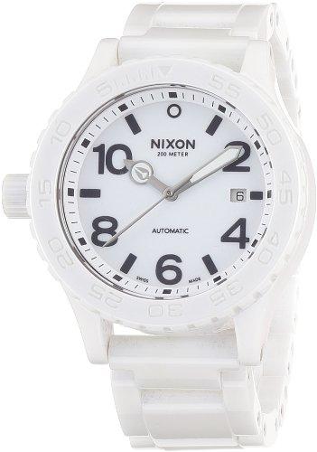[ニクソン]NIXON CERAMIC 42-20: ALL WHITE NA148126-00