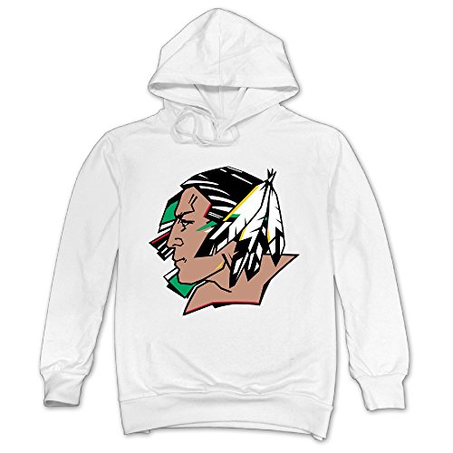 Harriy Men's Design Dakota Fighting Sioux Hooded Sweatshi...
