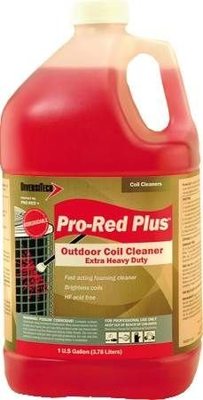 DIVERSITECH Pro Red Extra Heavy Duty Pro Red Plus Non Acid Foaming Outdoor Condenser Coil Cleaner 1 - Plus Foaming