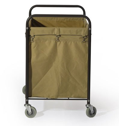 Commercial Laundry Cart, H 37.6'' x W 21.8'' x L 35.8'' by Farag Janitorial (Image #2)