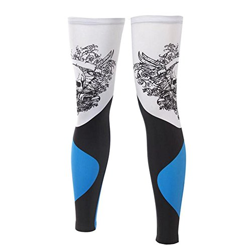 George Jimmy UPF 50+ Cycling/Hiking/Running/Basketball/Golf/Fishing Leg Sleeves XXL-03 by George Jimmy