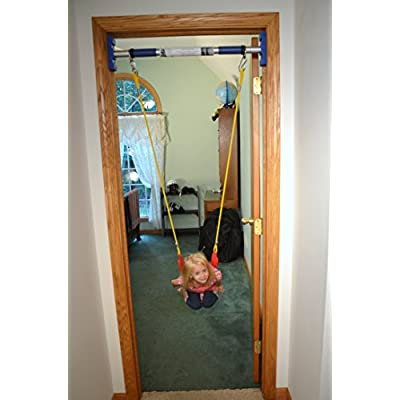 Rainy Day Playground Indoor Strap Swing (Support BAR Sold Separately): Toys & Games