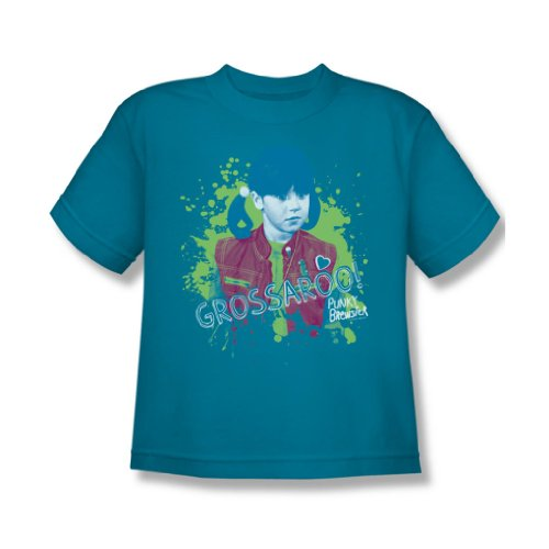 Punky Brewster - Grossaroo! Youth T-Shirt In Turquoise, Size: Medium, Color: Turquoise