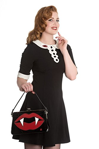 Kiss Sulpicia Hell Bag Bunny 50s Handbag Fangs Deadly Vintage Me Vampire Punk v465w14x
