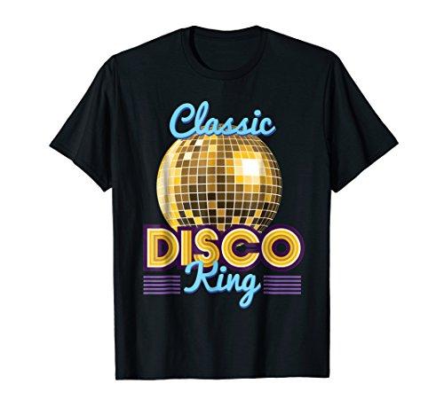 Classic Disco King Retro 70's Dance Party Costume -