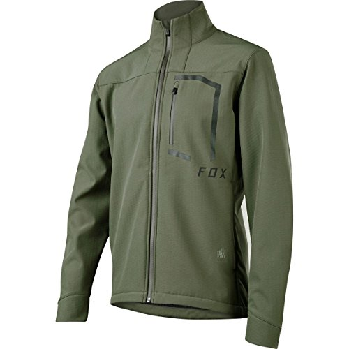 Fox Racing Attack Fire Softshell Jacket - 19818 (Drk Fat - M)