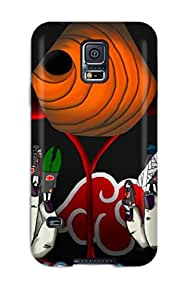 Galaxy S5 Case Cover - Slim Fit Tpu Protector Shock Absorbent Case (akatsuki)