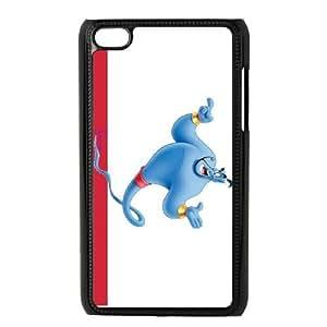 iPod Touch 4 Phone Case Black Aladdin Genie JOI5644895
